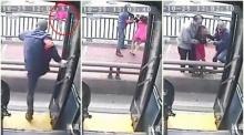 โชเฟอร์รถเมล์ฮีโร่จอดรถ-ช่วยหญิงสาวที่กำลังโดดสะพานฆ่าตัวตาย