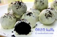 แป้งไม่ต้อง!! ง่าย ๆ กับ Chocolate Oreo Balls