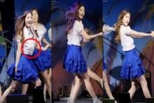 เด้งแรงเกิน!เกิร์ลกรุ๊ปเกาหลี 'เสื้อในหลุด' กลางเวที(คลิป)