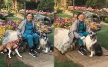 คลิปหาดูยาก!! สมเด็จพระเทพรัตนราชสุดาฯ ในพระอิริยาบถสบายๆ เล่นกับสุนัข (คลิป)
