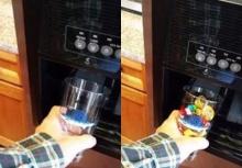 เจ๋ง! ทำลูกอมจากช่องน้ำแข็งในตู้เย็น