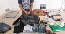 เทคนิคจัดกระเป๋าเดินทาง 1 เดือน แบบเจ๋งๆ!