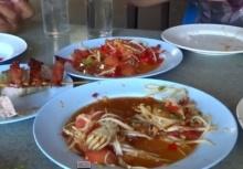สุดยอดตำลาวเขมราฐ Khemarat street food