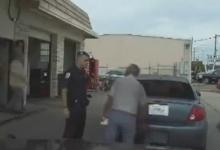 ตำรวจทำเกินกว่าเหตุ ใช้ปืนไฟฟ้ายิงใส่ปู่วัย 76 ปี