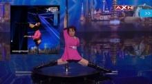 อัยยะ ! อาม่า65ปี โชว์เหนือเต้นรูดเสา(Pole Dance)ระดับเรียกเสียงกรี๊ด Asia′s Got Talent (ชมคลิป)