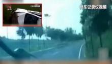 อุทธาหรณ์ หนุ่มสาวทะเลาะกันในรถจนพลิกคว่ำสยองหลายตลบ!!