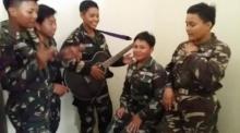 เจ๋งมากกกก เพลงประสานเสียงจาก ทหารหญิง(สาวหล่อ)ฟิลิปปินส์