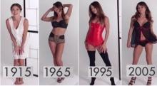 มาดูการเปลี่ยนแปลงของ ชุดชั้นในผู้หญิงในรอบ 100 ปี