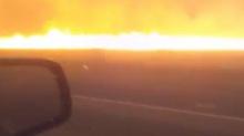 เผยวินาทีหนีไฟคลอกป่า..เส้นทางเพลิงมรณะหวิดคลอกรถ
