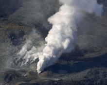 ชมนาทีภูเขาไฟทางใต้ของญี่ปุ่นปะทุครั้งแรกในรอบ 250 ปี (คลิป)