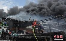 เผาวอดเกือบ 40 ลำ! บาหลีเร่งสืบหาสาเหตุเพลิงไหม้ท่าเรือครั้งใหญ่ (มีคลิป)