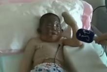 เด็กจีน 6 ขวบ สุดกล้าหาญ วิ่งฝ่ากองเพลิง ช่วยปู่พิการ