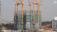 ไวเวอร์! จีนสร้างตึกระฟ้า 57 ชั้น เสร็จใน 19 วัน