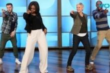 เมื่อ มิเชล โอบามา โชว์สเต็ปเต้นเพลงดัง!!