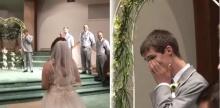 วันแต่งงานที่รอคอย!! เจ้าสาวทำเซอร์ไพรส์ให้กับเจ้าบ่าวจนถึงกับกลั้นน้ำตาไม่อยู่!!