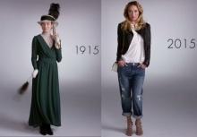 มาดูกันว่า ในรอบ 100 ปีที่ผ่านมา แฟชั่นของคุณผู้หญิงเปลี่ยนแปลงไปอย่างไรบ้าง!