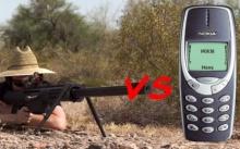 รู้หรือไม่? เมื่อ Nokia 3310 ถูกยิงด้วยปืนไรเฟิล ผลลัพธ์จะเป็นอย่างไร!!!
