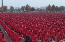 อาม่าใส่ชุดแดงร่วม 2 หมื่นคน เต้นออกกำลังกายทุบสถิติ