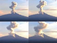 วินาทีภูเขาไฟ เม็กซิโกโหม ปะทุ คลั่ง