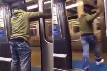 หนุ่มนั่งรถไฟเลยป้าย ตัดสินใจเปิดประตูกระโดดออกซ่ะงั้น!!