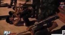 ทหารตำรวจล้อมจับแว๊นซ์อ่างทอง ลงโทษให้อมท่อ!!!