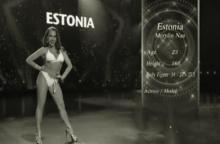 สูง 168 แล้วไง ! นางงามจากประเทศ เอสโตเนีย โชว์สเต็ปเดินที่ทำเอาหลายคนขำหนัก