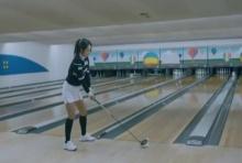 ทำได้ยังไง!! สาวเกาหลี หวดลุกกอล์ฟทำสไตรค์ โบลลิ่ง 2ครั้งติด!!