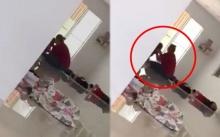 เพจดังเปิดคลิปแฉ!! หญิงทำร้ายเด็กอ่อนกลางสถานรับเลี้ยงเด็ก (คลิป)