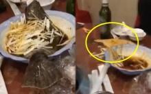 """สะดุ้งทั้งโต๊ะ!! เมื่อเมนู """"ปลานึ่งซีอิ้ว"""" ที่วางอยู่ในชาม จู่ๆเกิดดีดตัวออกจากจานได้!!? (คลิป)"""