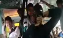 สองสาวพี่น้องอินเดียสู้ไม่ถอยพวกหื่นบนรถเมล์