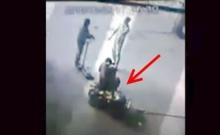 อุบัติเหตุ ยางรถไถระเบิด ขาหักสองท่อน