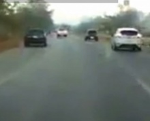 รถหลับในเสียหลักตกข้างทาง ผมนี่สวดมนต์ประสานเสียงเลย!!