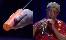เจ๋งเวอร์! ชายคนนี้ทำเครื่องดนตรีจากแครอท และเสียงมันก็แจ่มมากก!!