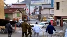 ญี่ปุ่นเผยวิดีโอถ่ายจากถนน ถูกสึนามิถล่มเมื่อปี 2554