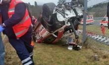 สยอง! รถนักเเข่งชื่อดังเสียหลัก พุ่งชนคนดูเสียชีวิต