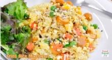 ข้าวผัดไมโครเวฟ Microwave Fried Rice