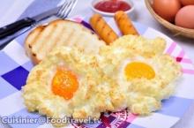 ไข่ดาวฟู Egg Nests