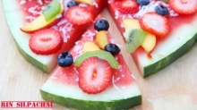 Watermelon Pizza! พิซซ่าแตงโม แสนชื่นใจ