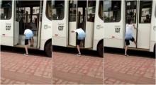 สุดฮา เด็กเกรียนเจอเกรียนกลับ หลังแกล้งกวนประสาทรถเมล์