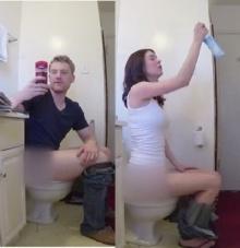 โดนป่ะล่ะ!!! แอบส่อง การเข้าห้องน้ำของ ผู้ชาย-ผู้หญิง แตกต่างเกิ๊น!!!
