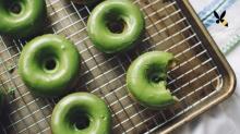 โดนัทชาเขียว ง่ายๆ ทำกินเองก็ได้..ง่ายจัง