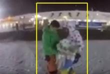 โรแมนติกสุดๆหนุ่มกิมจิ ขอแฟนแต่งงานท่ามกลางหิมะ