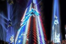 """ชมการแสดงสุดตระการตา แสง สี ตึกมหานคร"""" ตึกสูงสุดในไทย"""