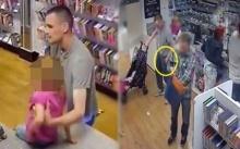 กล้องวงจรจับภาพ คุณพ่อลูกอ่อนกำลัง ใช้เด็ก เพื่อทำในสิ่งที่ผิด จนชาวเน็ตด่ายับ (คลิป)