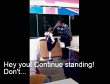 ดุนักต้องเจอแบบนี้! น.ร.ทนไม่ไหวเตะผ่าหมากครูสอนอังกฤษ!