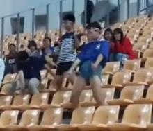 สีสันกองเชียร์ หลังจบเกม บอลไทยเสมอเกาหลี