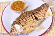 ปลาตะเพียนไร้ก้าง กรอบอร่อย