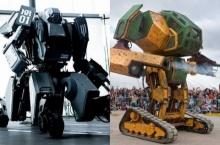 อย่างกับหนัง! หุ่นยนต์ญี่ปุ่น-มะกันเตรียมเปิดศึกดวล1-1