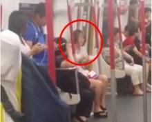 อาการหนักเวอร์!!!เมื่อสาวคนนี้กรีดร้องบน รถไฟฟ้าเพียงเพราะ…???