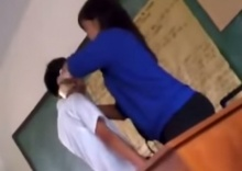 ครูสาว ใช้เทปกาว พันรอบปาก นักเรียน โมโห คุยกันเสียงดัง ระหว่างสอน